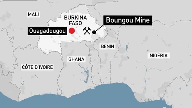 <b>Canadian mining firm's convoy attacked in Burkina Faso, 37 dead</b>