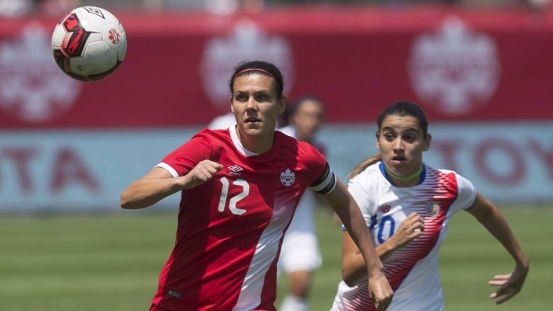 Christine Sinclair gets chance to break goal record in Olympic soccer qualifier