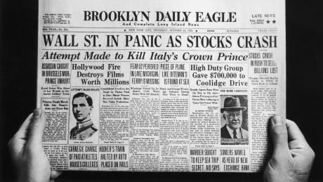 brooklyn daily eagle stock crash 1929