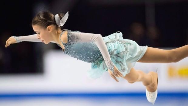 Shcherbakova leads short program at Cup of China