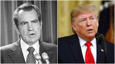 Nixon Trump composite