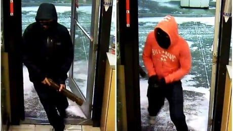 Whitehorse armed robbery suspects