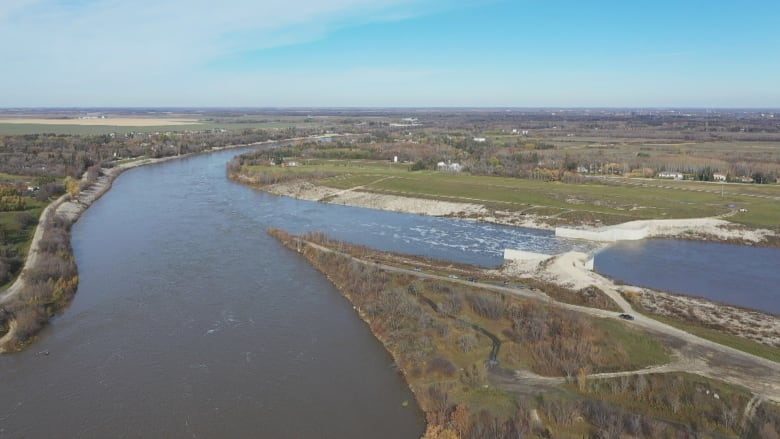Floodway gates lowered after being used in fall for first time