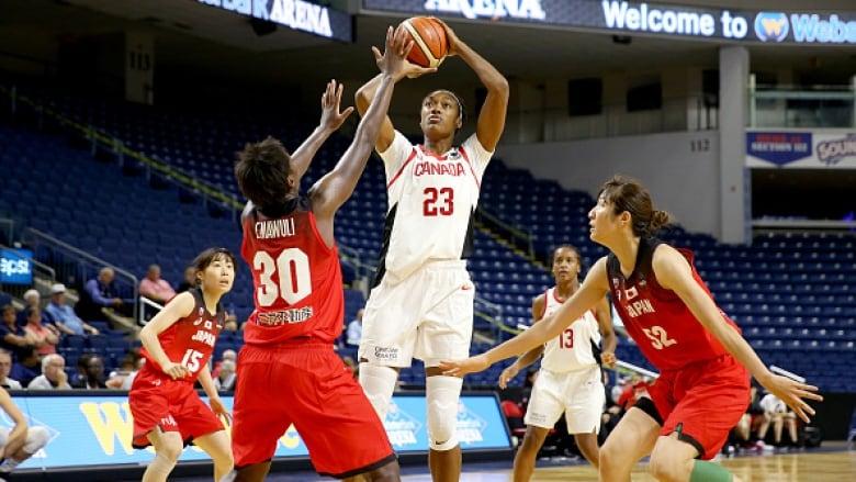 Canadian women's basketball team reaches program-best no. 4 world ranking