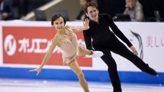 Canada's Lubov Ilyushechkina, Charlie Bilodeau 2nd after pairs short program at Cup of China