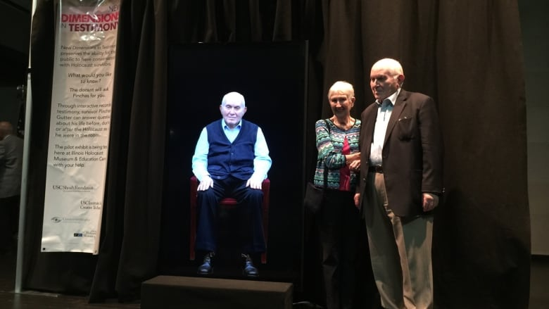 Holocaust holograms: how survivors' stories live on through new technology