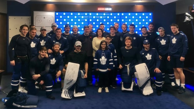 Corner Brook boy meets Maple Leafs in Toronto after disappointing birthday party - CBC.ca