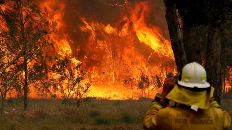 Australian firefighters battle widespread blazes amid threat of worsening conditions