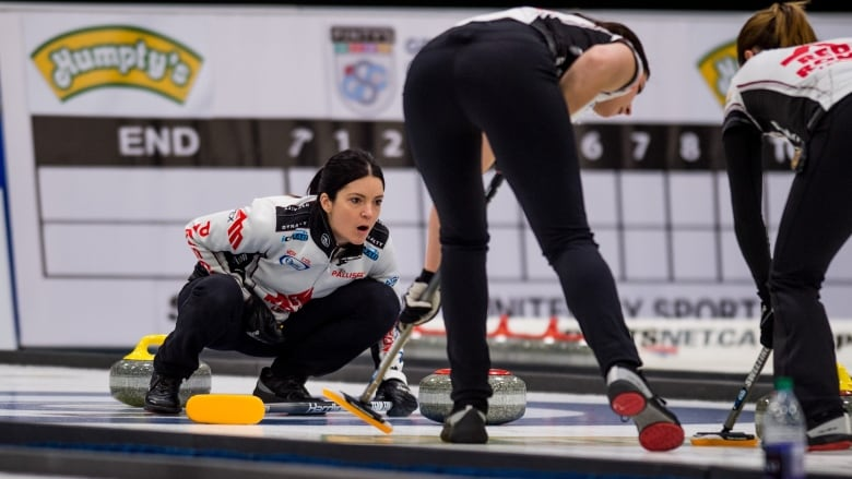 Einarson falls in finals to Olympic champ Hasselborg at Tour Challenge