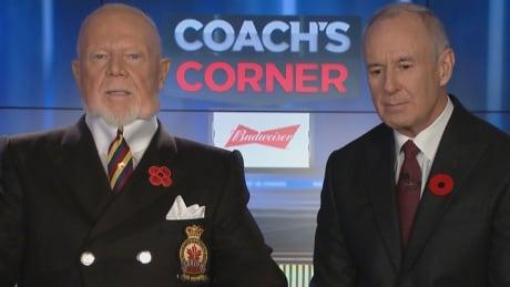 Coach's Corner Don Cherry Ron MacLean Nov. 9