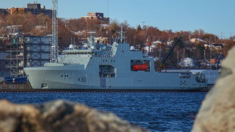 First Irving-built Arctic patrol ship to be delivered one year late
