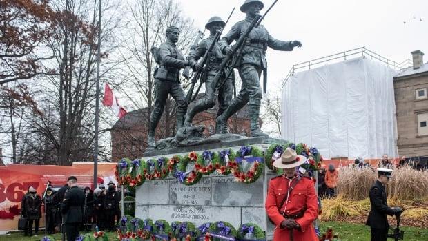 P.E.I. church group asking legion for greener options for Remembrance Day wreaths | CBC News
