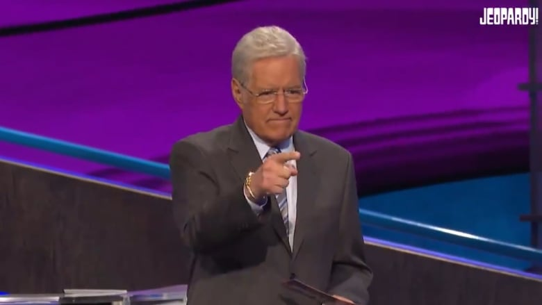 Alex Trebek chokes up reading heartfelt Final Jeopardy message