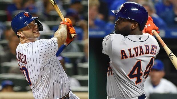Sluggers Pete Alonso, Yordan Alvarez capture MLB rookie honours