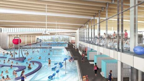 Minoru Centre of Active Living pool facilities