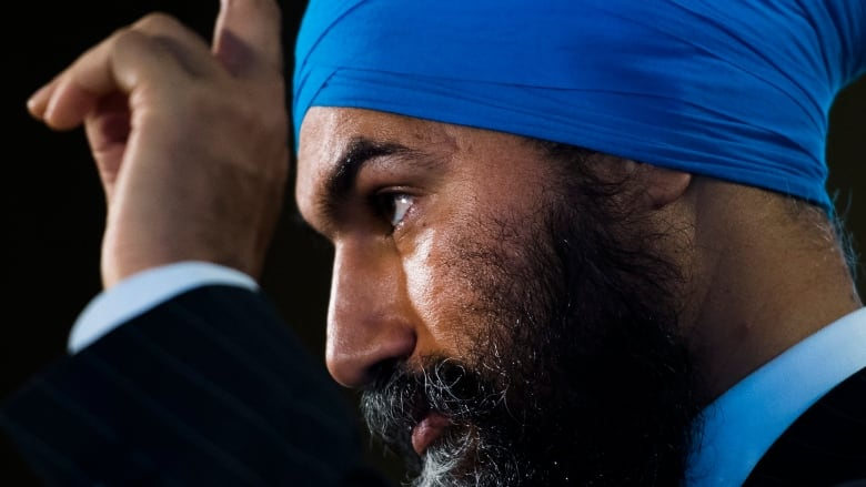 Jagmeet Singh says NDP open to voting against throne speech