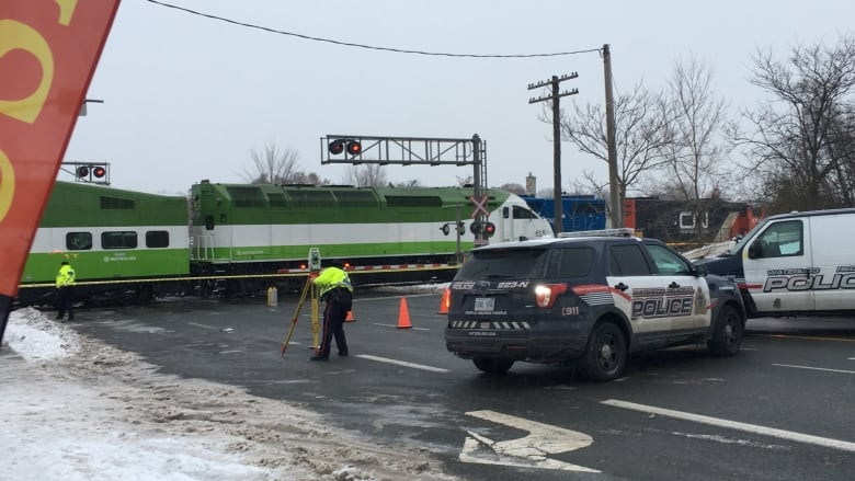 2 people hit by GO train in Kitchener near Lancaster and Victoria