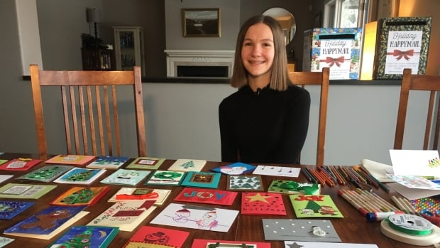 Windsor-Essex teen on a mission to deliver holiday cards to seniors across the region - CBC.ca