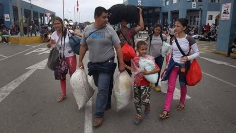 Peru Venezuela Refugees