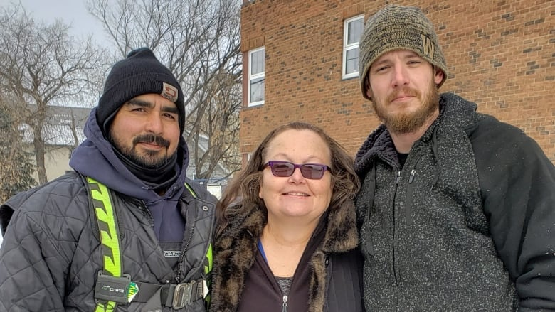 Hero roofers save woman from drowning in icy Red River