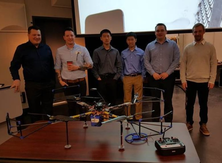 Flying Wi-Fi hotspot earns accolades at Alberta tech competition