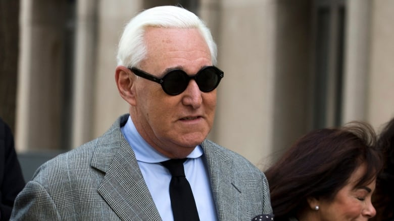 Trump associate Roger Stone found guilty of lying to Congress