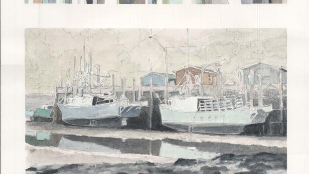 Sketches of a port city: McGill architecture students capture Saint John vistas - CBC.ca
