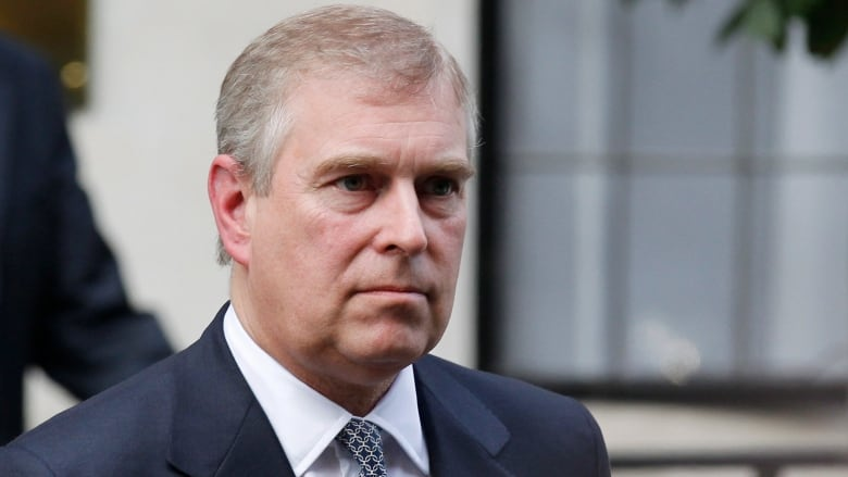 Prince Andrew stepping down from public duties