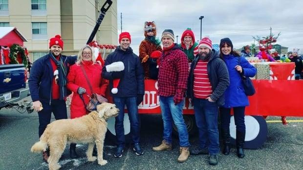 Photos from Thunder Bay's Rotary Santa Claus parade