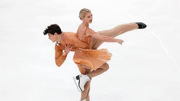 Gilles and Poirier skate to silver in ice dance at Grand Prix of Russia