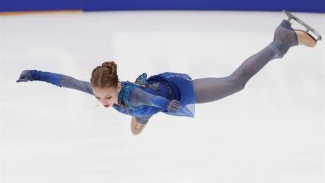 15-year-old Alexandra Trusova takes gold in Russia