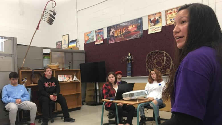 Students learn Indigenous teachings through new program at Wallaceburg High School