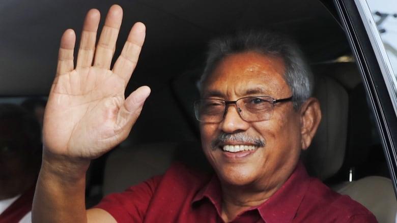 Image result for Sri Lanka presidential election Gotabaya Rajapaksa victorious in the election