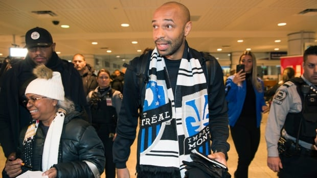 Watch Montreal Impact introduce Thierry Henry as its new coach