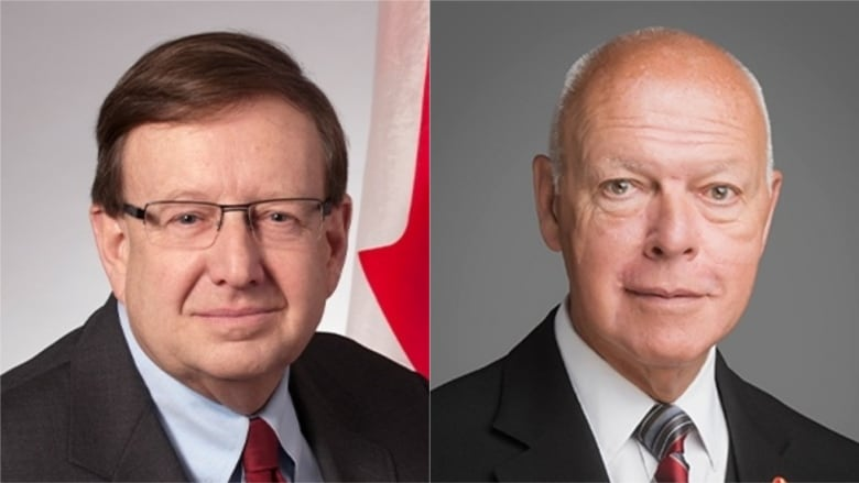 Two more senators defect to upstart group, one citing Scheer's leadership