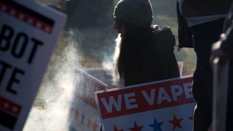 Vaping protest outside White House