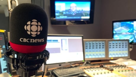 CBC North Yellowknife radio studio