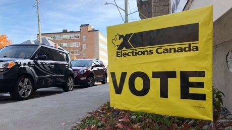elections canada election sign poll vote byelection