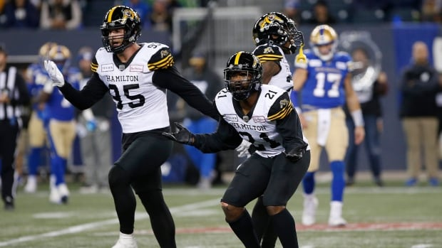Ticats' Lawrence says things 'all good' with Bombers' Collaros after controversial hit