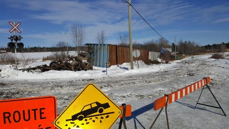 Central Maine and Quebec Railway back in spotlight after weekend derailment