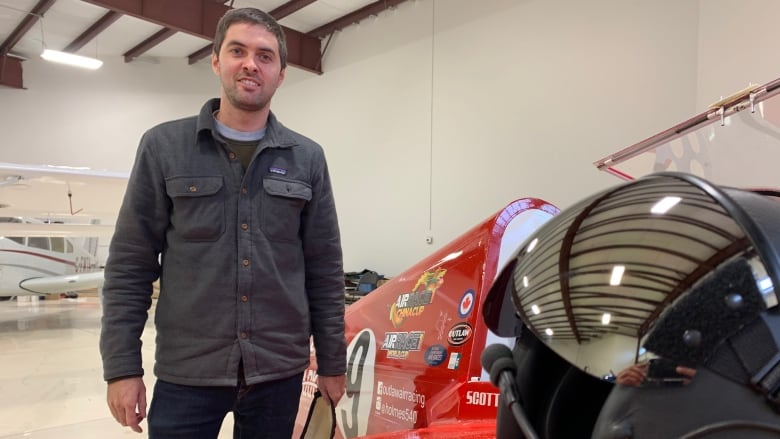Edmonton pilot hopes to cross the finish line in international electric airplane race