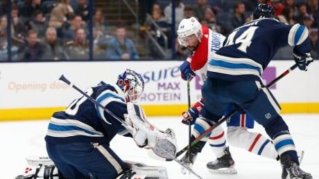 Canadiens Blue Jackets Hockey