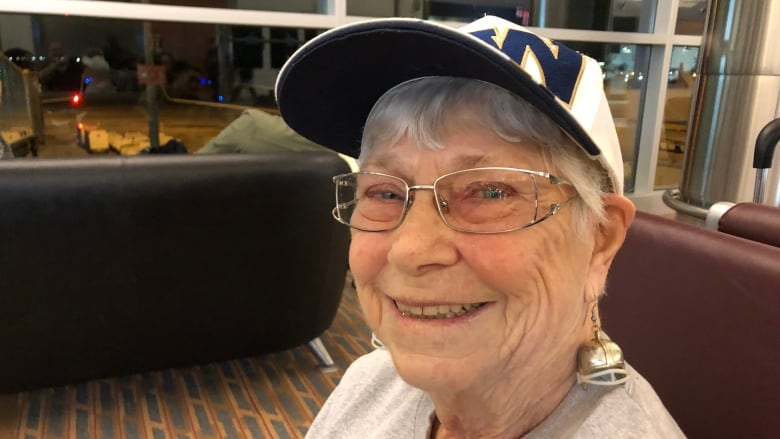 90-year-old Bombers superfan heads to Calgary to cheer on 'our boys'