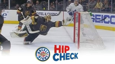 Hip Check: Marc-Andre Fleury gets on the board for save of the year