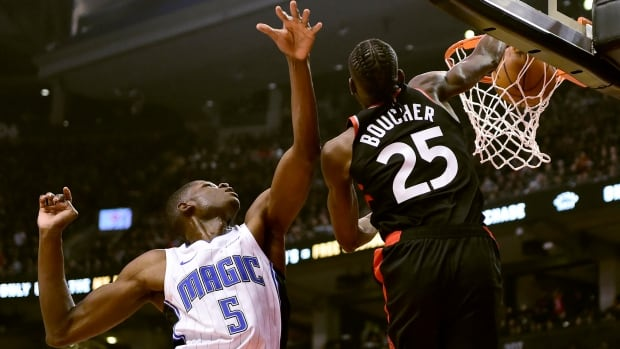 Boucher, Davis provide scoring punch off bench to help Raptors topple Magic
