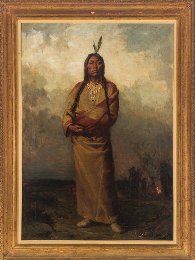 Chief Poundmaker portrait sells at auction for double estimated value
