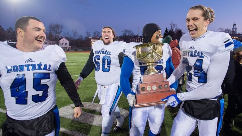 Vanier Cup dominance shows how big football is in la belle province: Russell