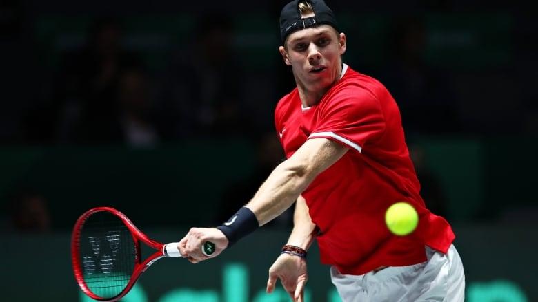 Canada's Shapovalov drops singles match as Australia ties Davis Cup quarter-final