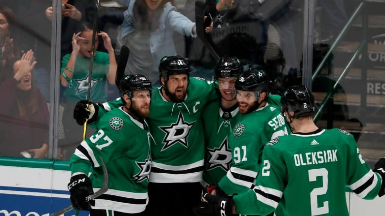 Stars recover to shoot past Jets after blowing 3-goal lead