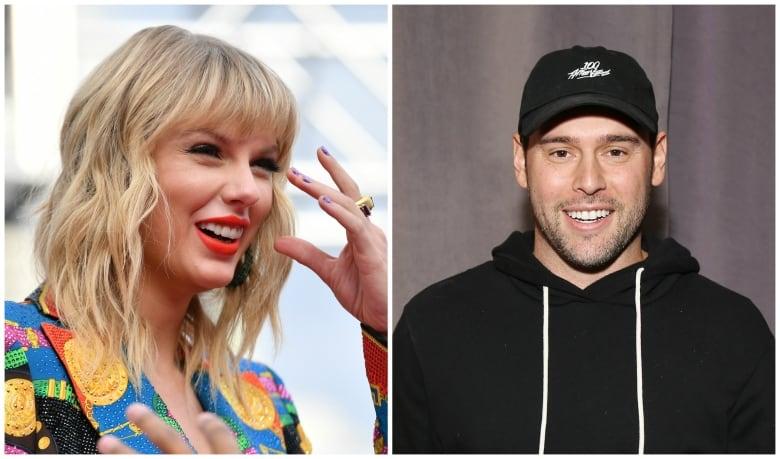 Taylor Swift Calls Out Scooter Braun During Billboard Speech Cbc News